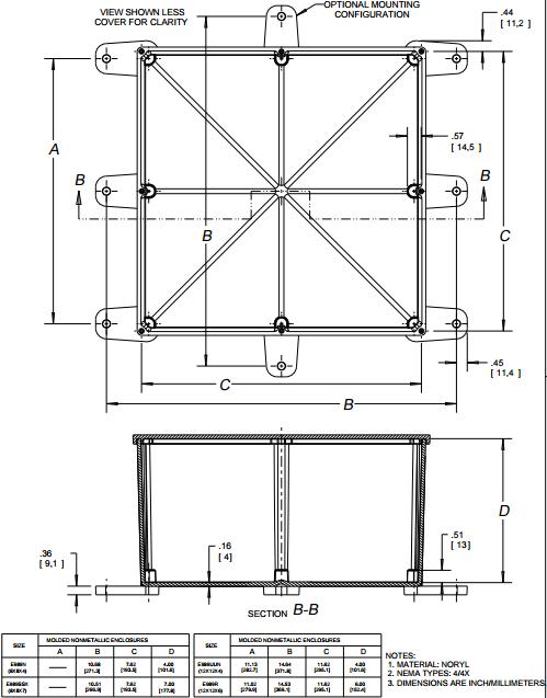 8x8x4 electrical box